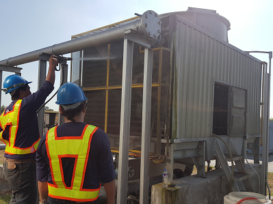 cooling tower cleaning service syner chem