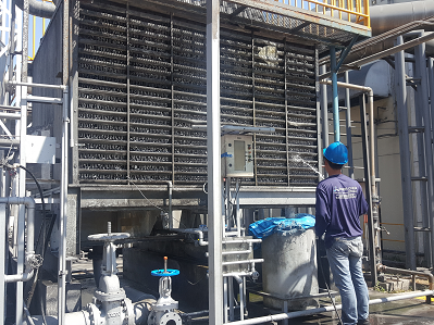 cooling tower maintenance service syner chem